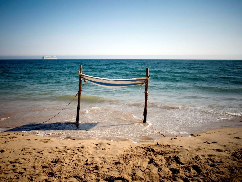 Praia de Carvavelos (LUSA)