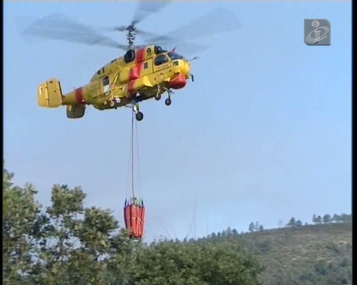 Mogadouro e Moncorvo: casas evacuadas devido aos incêndios