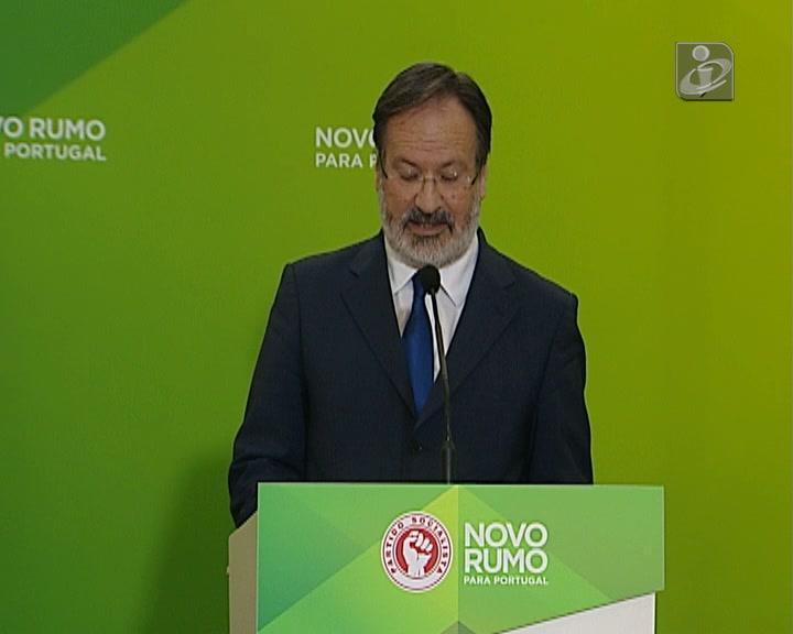 PS rejeita proposta de Cavaco Silva para integrar Governo