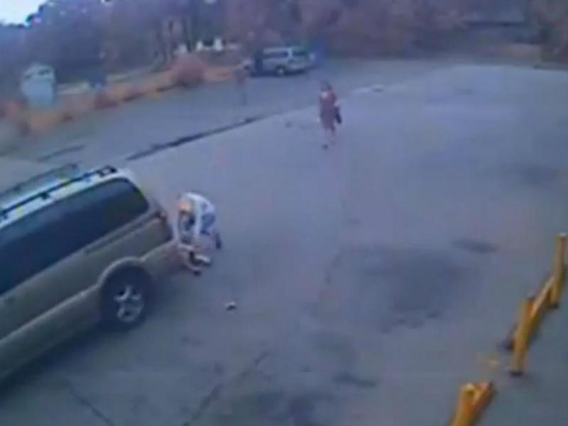 Condutor atropela e foge (Reprodução YouTube)