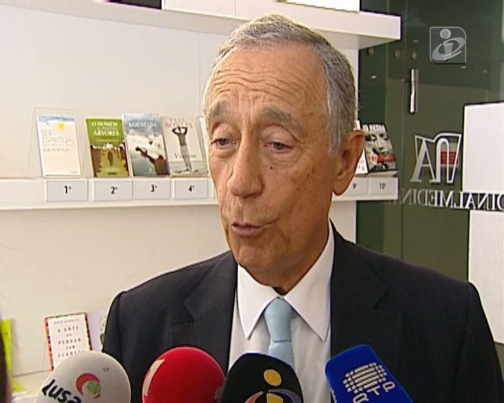 Marcelo diz que Cavaco deu um «estalo à classe política»