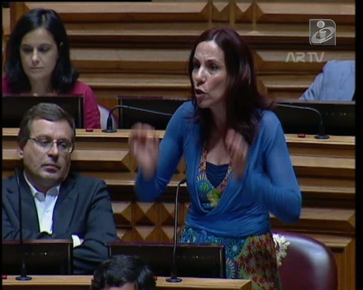 «Verdes» anunciam moção de censura ao Governo