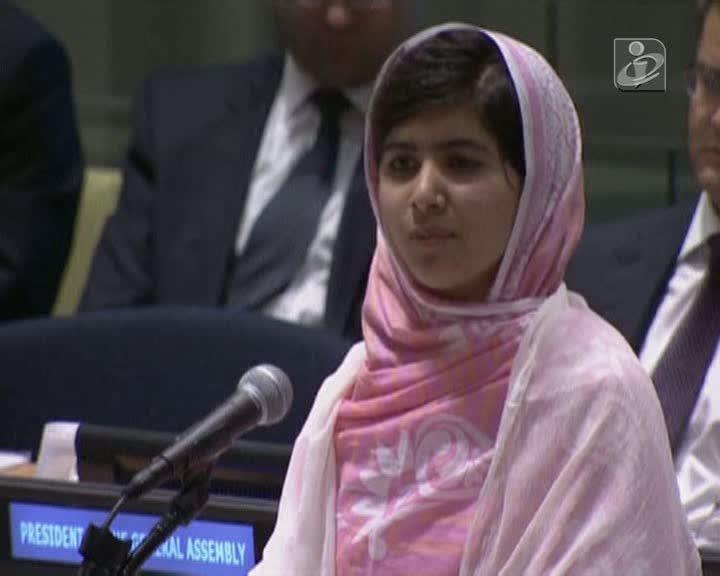 Malala Yousufzai faz emocionante discurso na ONU