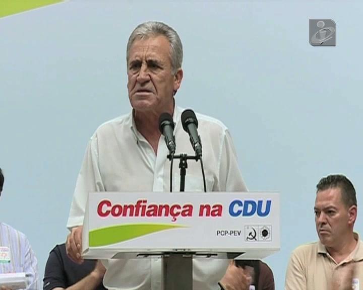 «PCP para se meter nessa política pantanosa seria trair o povo»