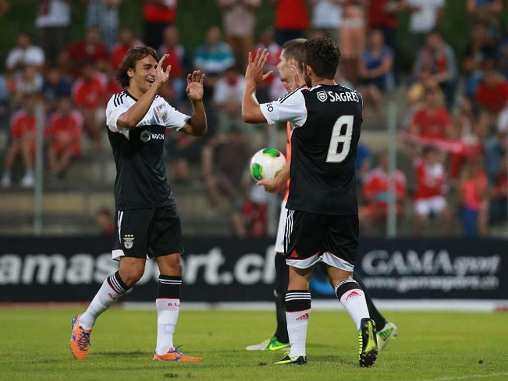 Étoile Carouge-Benfica [Foto: Benfica]