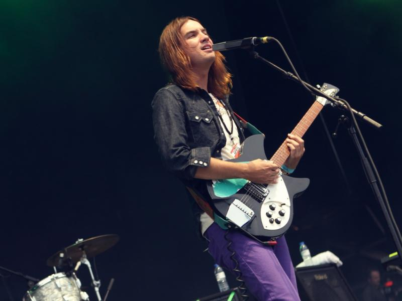 Tame Impala no Optimus Alive 13 (Foto: Paulo Sampaio)