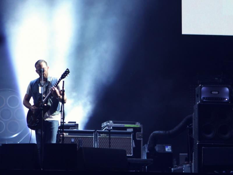 Kings of Leon no Optimus Alive 13 (Foto: Paulo Sampaio)