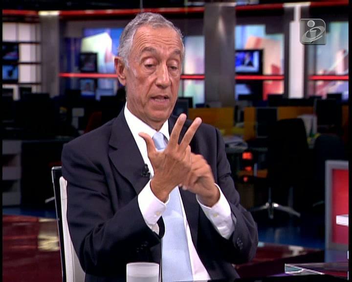 Marcelo: acordo proposto pelo PR «foi uma bomba»