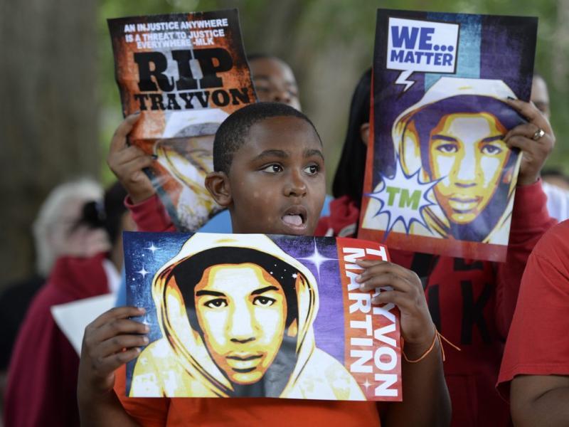 Morte de Trayvon Martin: norte-americanos protestam contra absolvição de George Zimmerman (EPA/Erik S. Lesser)