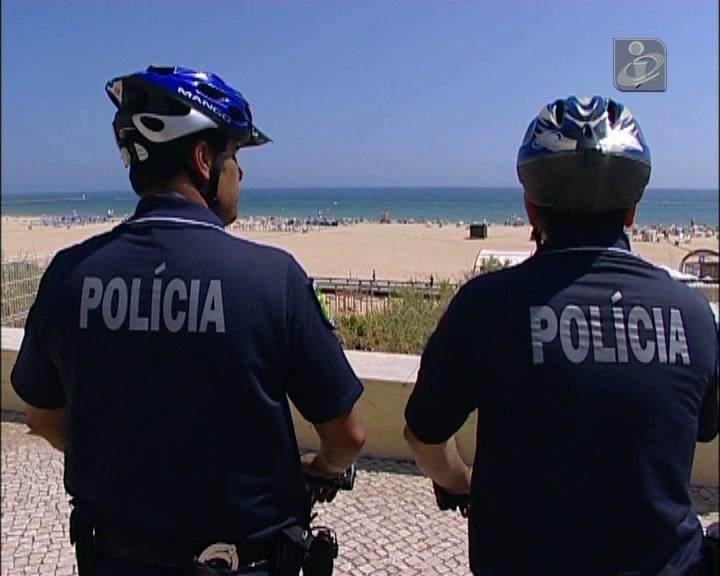Zonas turísticas do Algarve com reforço de segurança