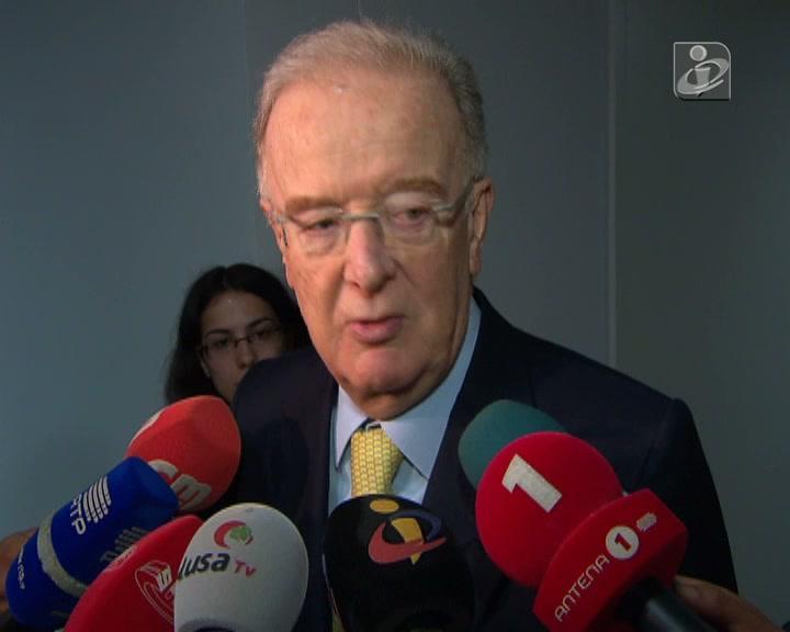 Sampaio fala da situação difícil de Portugal
