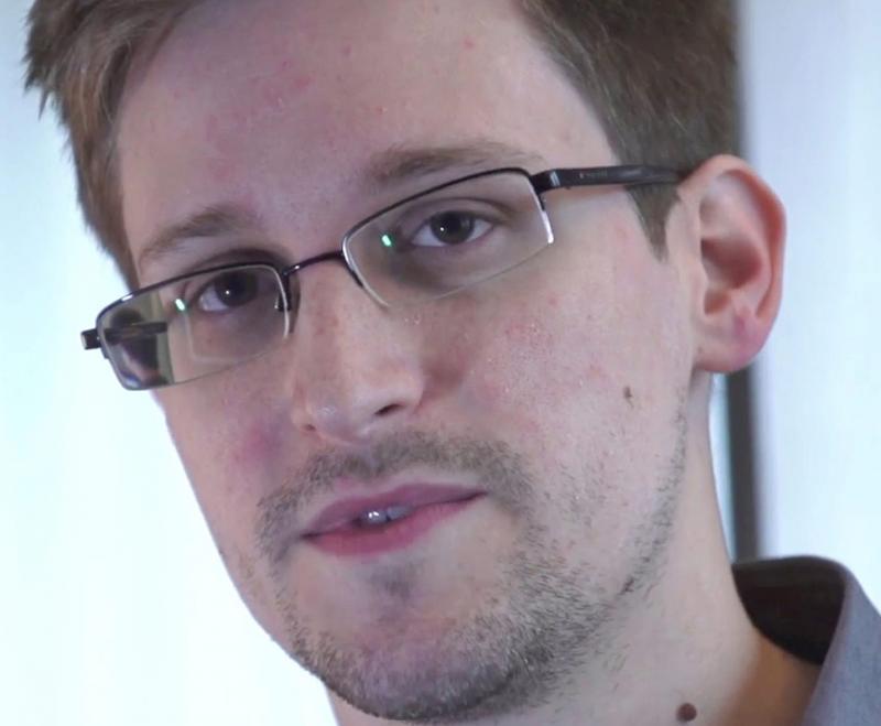 Edward Snowden Foto: Lusa