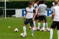 Jeffrey Bruma no primeiro treino do PSV