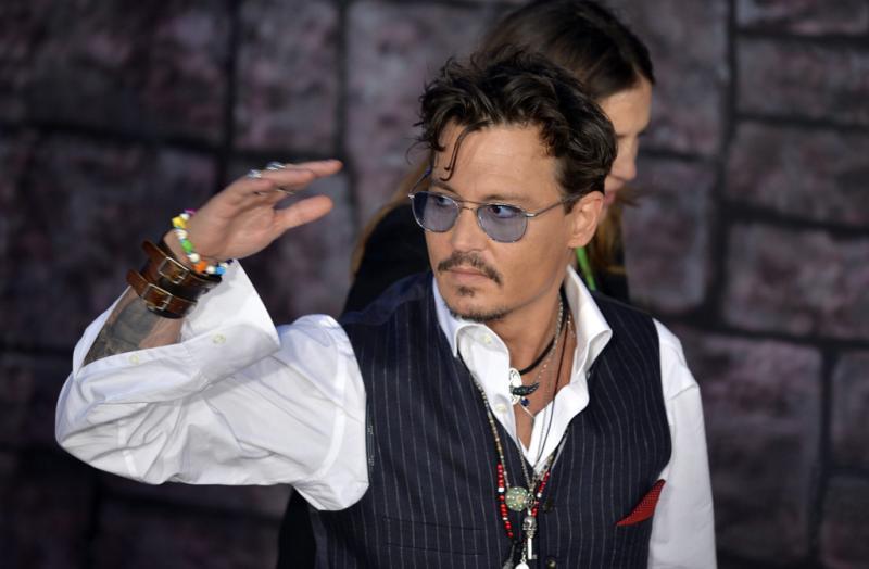 Johnny Depp - Apresentação de «The Lone Ranger» em Tóquio