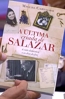 Os livros de Marcelo Rebelo de Sousa «A última criada de Salazar»