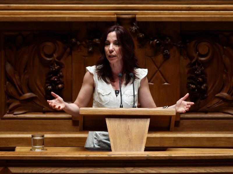 Debate da moção de censura de «Os Verdes» (LUSA)
