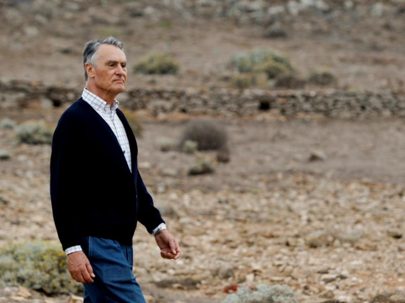 Cavaco Silva visita Selvagens (LUSA)