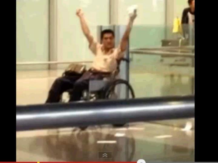 Explosão no aeroporto de Pequim (Foto: Xinhua)