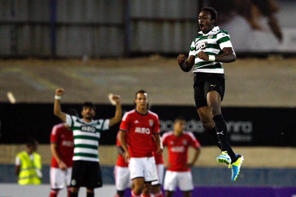 Benfica-Sporting: golo de Fokobo