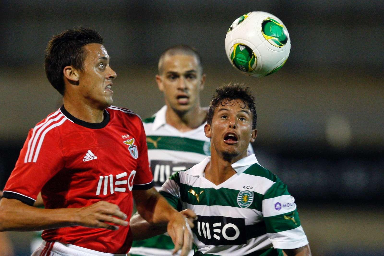 Benfica-Sporting: Uros Matic contra Kikas