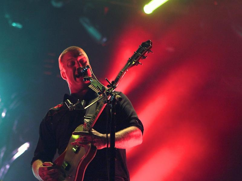 Queens of the Stone Age no Super Bock Super Rock 2013 (Foto: Paulo Sampaio)