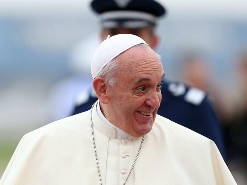 Chegada do Papa Francisco ao Rio de Janeiro (EPA)
