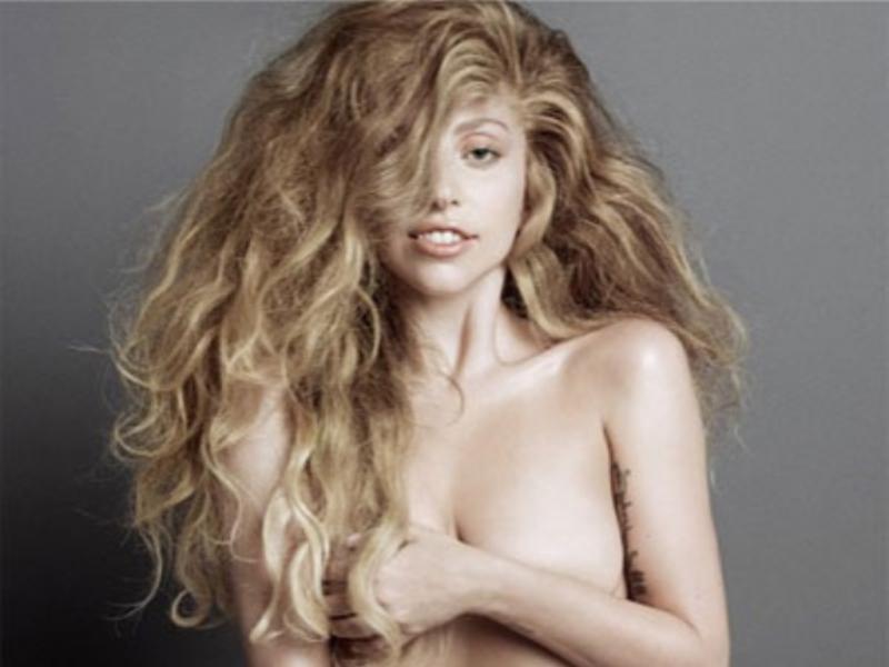 Lady Gaga nua na capa da «V Magazine»