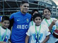 Quintero juntou-se à equipa (foto F.C. Porto)