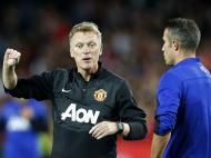 David Moyes no Manchester United