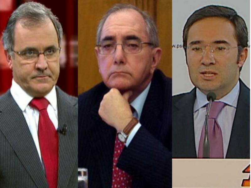 Pires de Lima, Rui Machete e Jorge Moreira da Silva