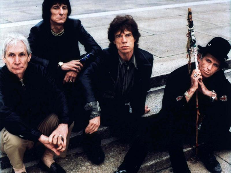 Mick Jagger com a banda Rolling Stones (Reuters)