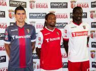 Os novos equipamentos do Sp. Braga (DR)