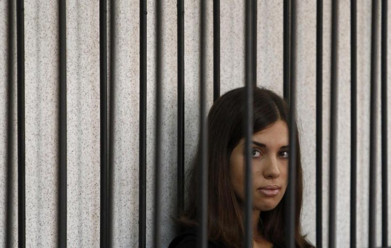 Nadezhda Tolokonnikova das Pussy Riot Foto: Reuters