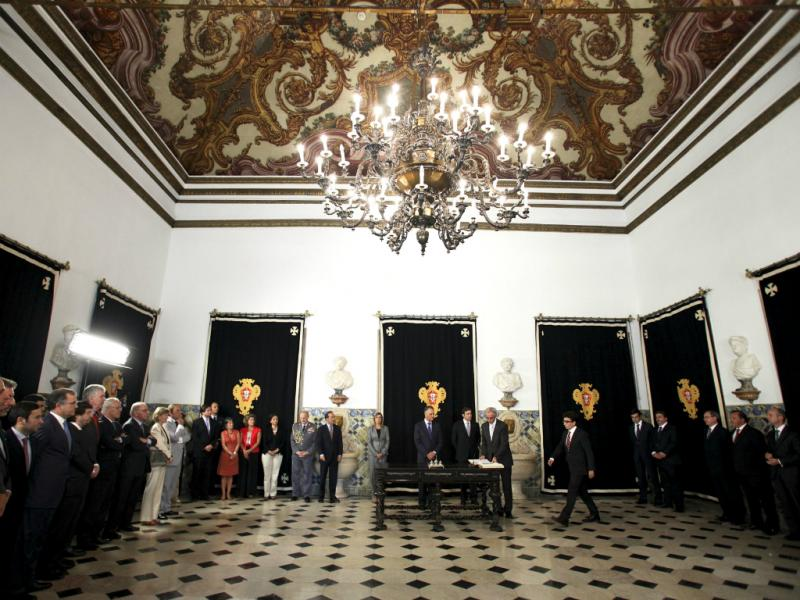 Secretários de Estado tomam posse (Lusa/Tiago Petinga)
