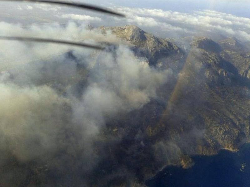 Incêndio em Maiorca