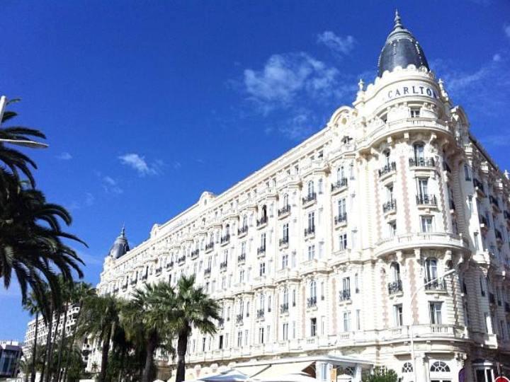 Hotel Carlton, em Cannes
