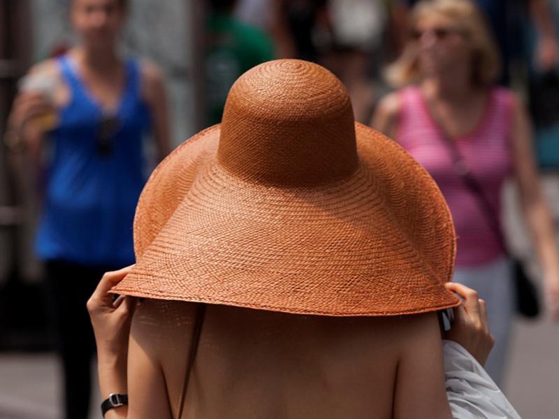 Quando o calor aperta. Nova Iorque, Estados Unidos (Reuters)