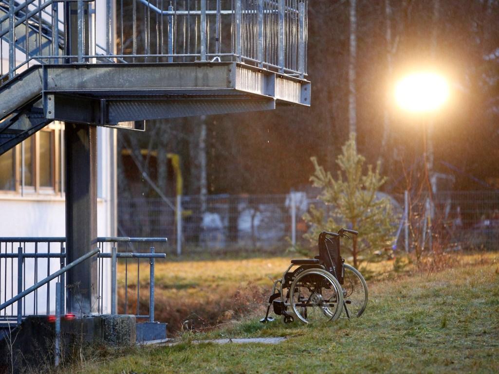 Cadeira de rodas (Reuters)