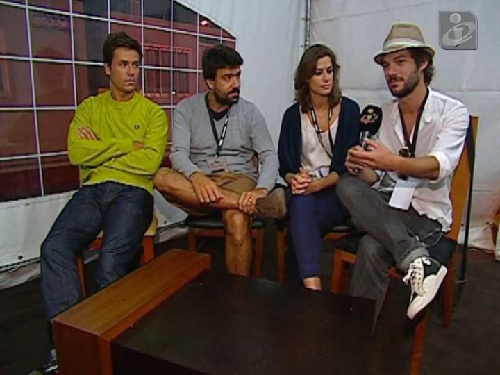 Os Azeitonas em entrevista à TVI