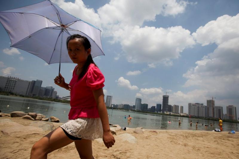 China em alerta devido ao calor (Lusa)