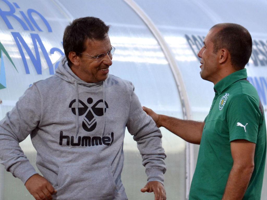 Leonardo Jardim e  Manuel Machado