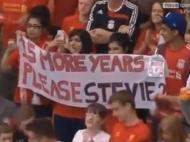 Homenagem a Steven Gerrard
