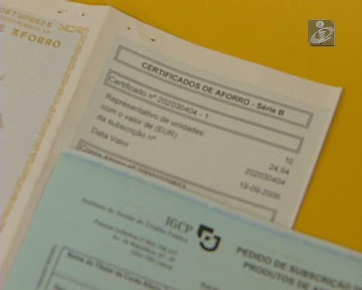 Certificados de aforro rendem mais que depósitos