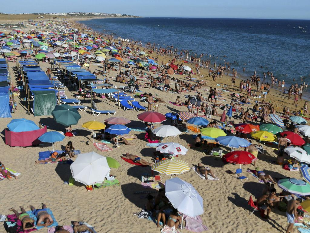 Praia (Luís Forra/Lusa)