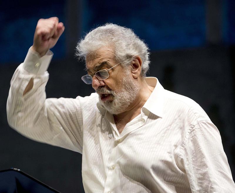 Plácido Domingo regressa aos palcos Foto: Lusa