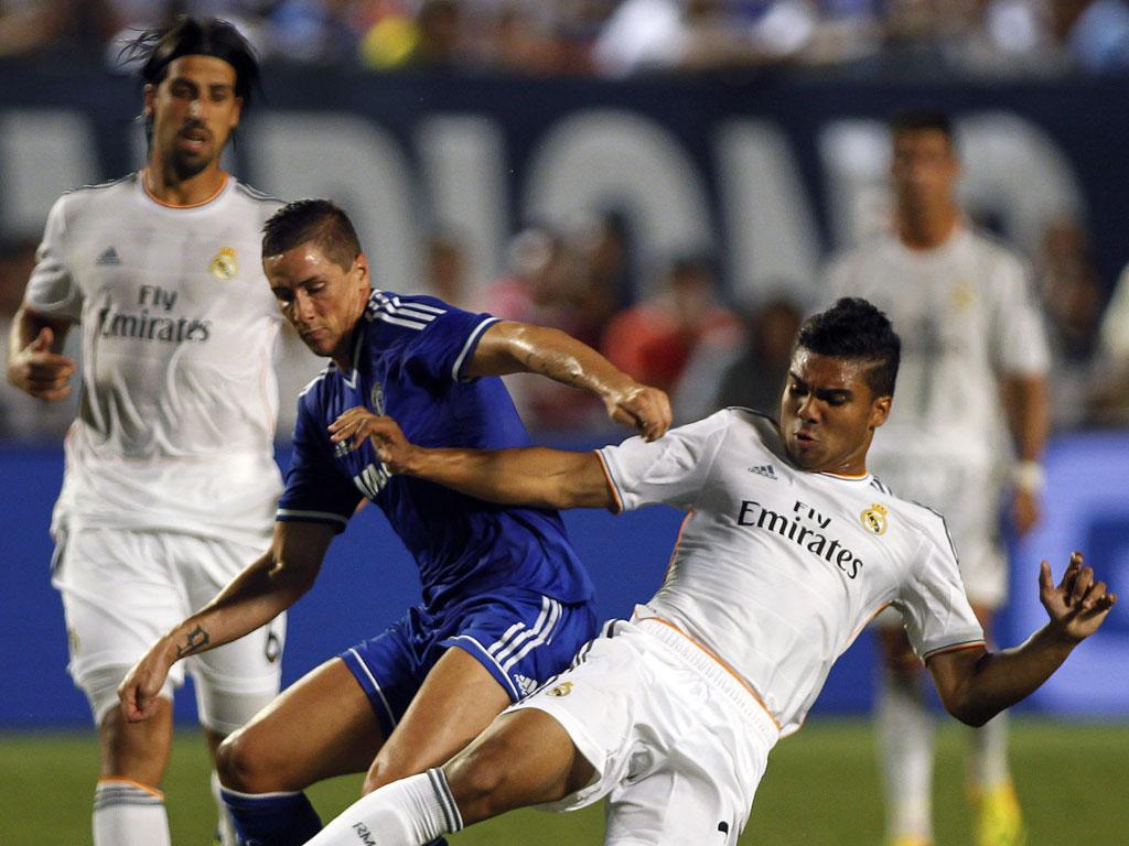 Real Madrid vs Chelsea (Reuters/Andrew Innerarity)