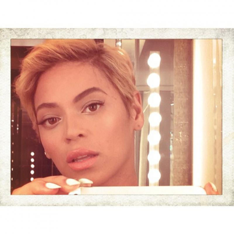 Beyoncé muda de visual Foto: Instagram