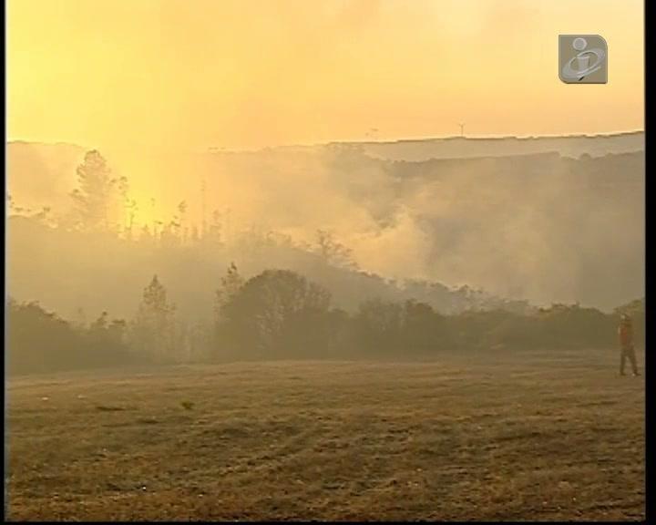 Incêndio em Alenquer