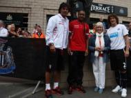 Sp. Braga e Newcastle evocam Bobby Robson (Foto site oficial Newcastle)