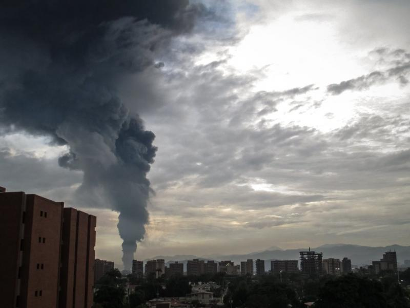 Fogo na Venezuela (Lusa)